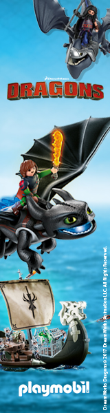 Playmobil Dragons Banner