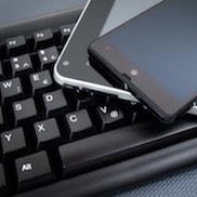 Schaltfläche, um zu den Elektronik Online Shops zu gelangen
