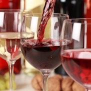Schaltfläche, um zu den Wein Online Shops zu gelangen