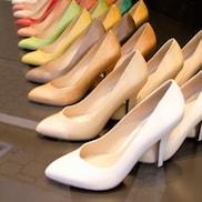 Schaltfläche, um zu den Schuhe Online Shops zu gelangen