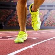 Schaltfläche, um zu den Sport Online Shops zu gelangen