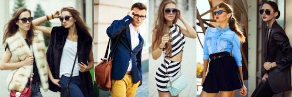 Stimmungsfoto zum Thema Mode online bestellen